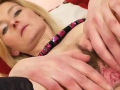 Elegant hirsute puss madame Antonie first-ever time vid