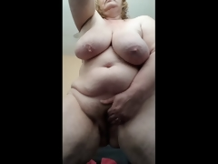 Lewd Housewife soaked and cumming for you after shower