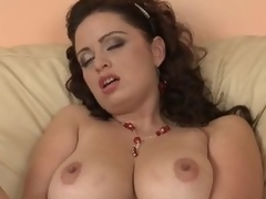 Breasty Grown up Layman Sirale Masturbates