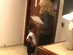 Little man having intercourse