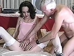 Beautiful milf is doing a great job on his penis