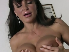 Big breasted housewife Lisa Ann