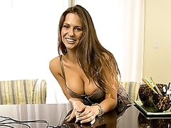 Busty Latin babe MILF With a Hawt Gazoo Sucks and Copulates a Large Cock
